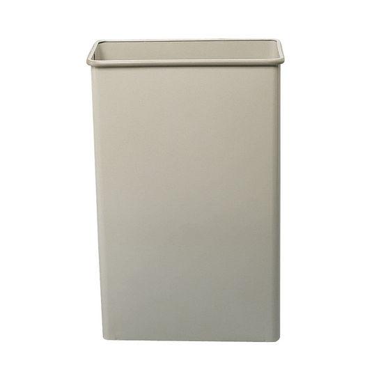 Safco tall rectangular wastebasket at - Rectangular garbage cans ...
