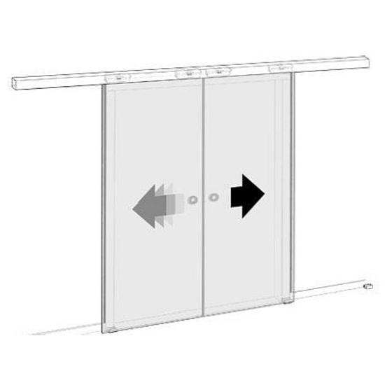 Sliding Door Hardware Covert Series Soft Close Sliding Glass Door
