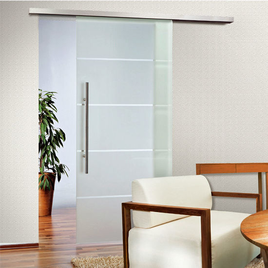 Sliding door hardware covert series soft close sliding for Single sliding glass door