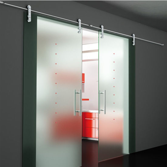 Sliding Door Hardware Flux Series Double Sliding Door