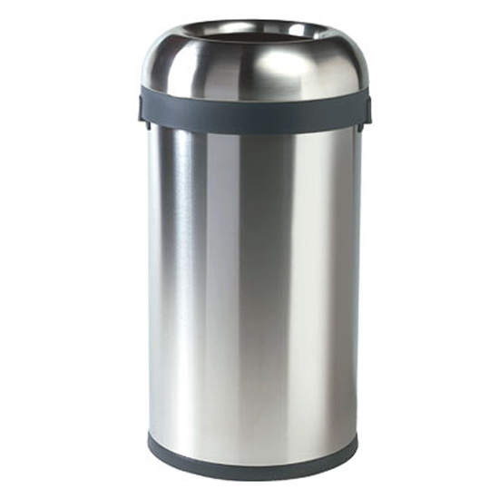 Simplehuman Stainless Steel Bullet Open Can