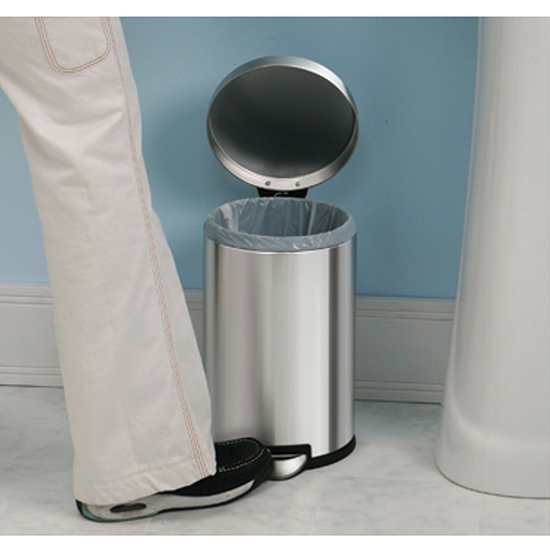 Simplehuman Mini Round Step Can
