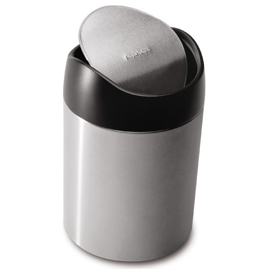 Simplehuman 0.4 Gallon Countertop Trash Can