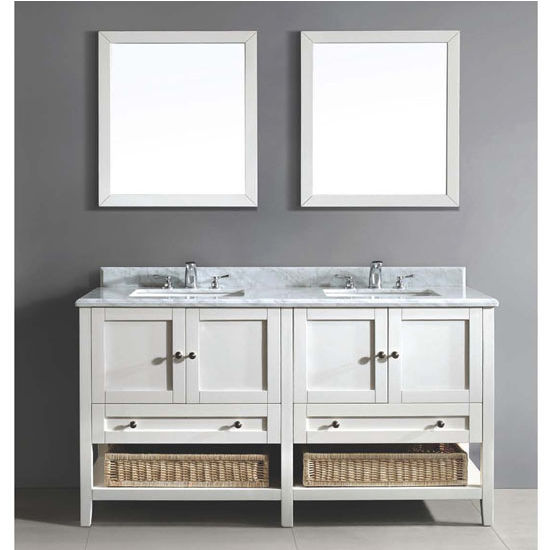 60 39 39 W Bohemian Vanity Set Counter Top Aacct602134 01 Cabinet Aaccc602134 01 2 Mirrors