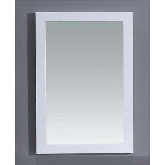 """22"""" Mirror, White"""