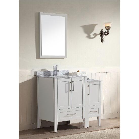 Ross Series 36 13 16 Wide Free Standing Single Vanity Cabinet Set