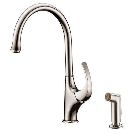 Solid Brass Construction Sks Ab043276 Single Lever Kitchen Faucet