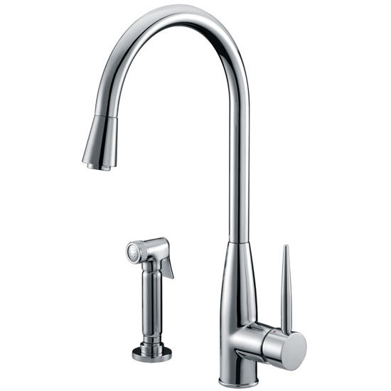 Solid Brass Construction Sks Ab503178 Single Lever Kitchen Faucet