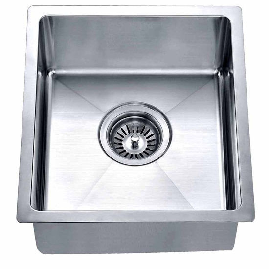 Stainless Steel Undermount Single Bowl Bar Sink In
