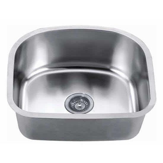 Dawn Sinks Undermount 18 Gauge Single Bowl Kitchen Sink