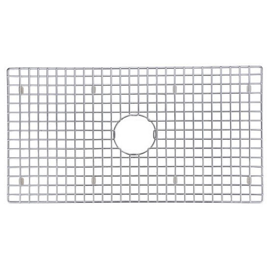 Dawn® Bottom Grid for SKS-SRU311710 in Polished Satin Stainless Steel, 31/8'' W x 16-1/16'' D x 1'' H