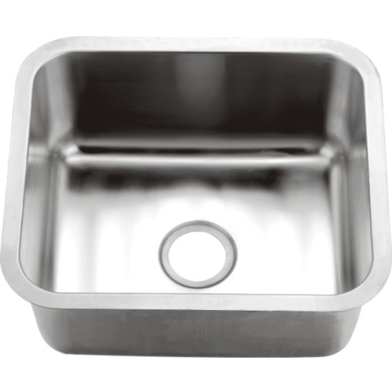 16 Undermount Sink : Kitchen Sinks - Single Series 16-Gauge Stainless Steel Undermount Sink ...