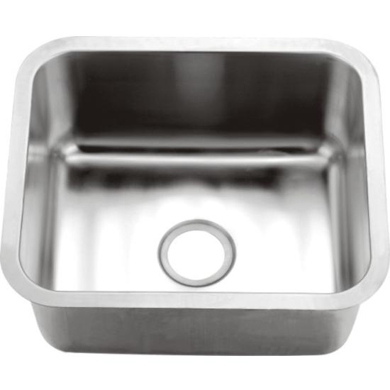 Kitchen Sinks - Single Series 16-Gauge Stainless Steel Undermount ...