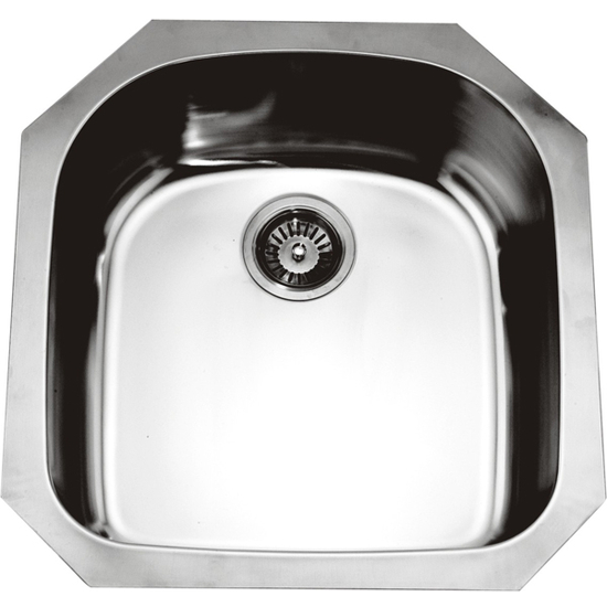 Dawn Sinks Single Series 18-Gauge Stainless Steel Undermount Sink