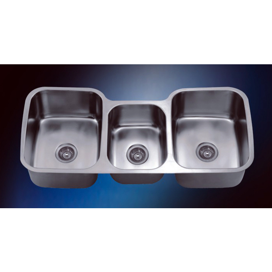 Dawn Sinks Stainless Steel Undermount Triple Bowl Sink