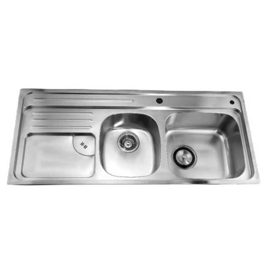 Dawn Sinks Combination Drop In Series Stainless Steel Top Mount Sink