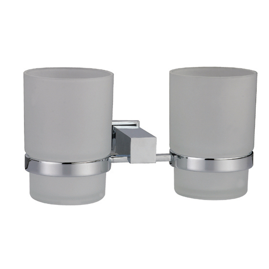 Dawn Sinks Square Series Double Toothbrush Holder