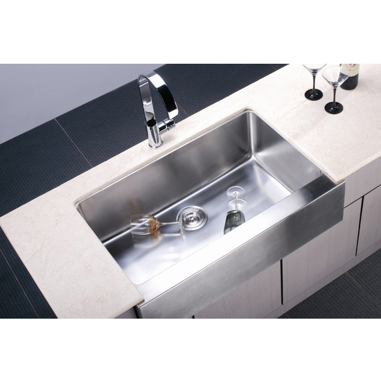 7 Apron Front Sink : Sinks - Undermount Series 16-Gauge Stainless Steel Apron Front Sink ...