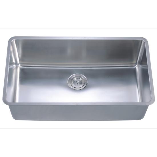 Small Radiu Single Bowl SinkSmall Radiu Single Bowl