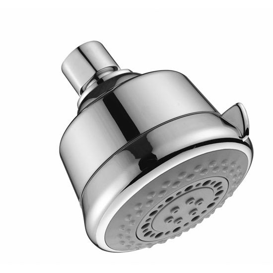 Dawn Sinks Multifunction Wall Mounted Showerhead, 3 Spray Settings- Massage, Rain, Bubble, Chrome