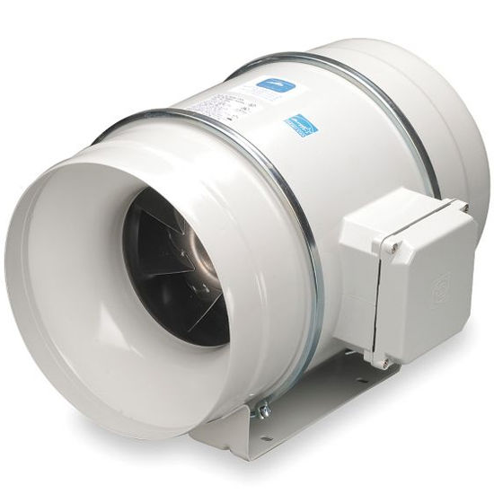 Inline Bathroom Exhaust Fans : Inline fans mixed flow with variable speed