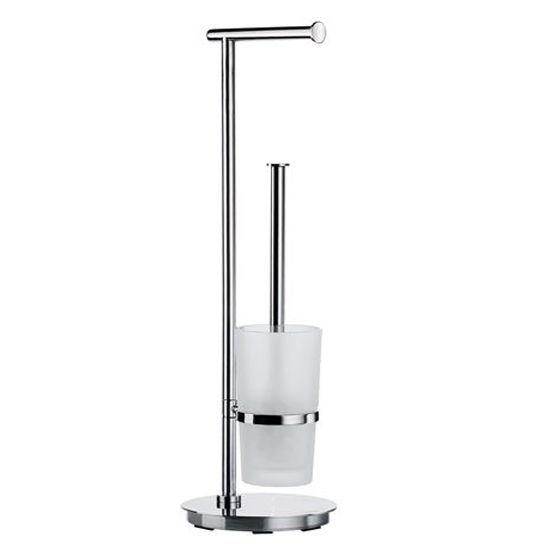 Smedbo - Toilet Roll Holder/Brush