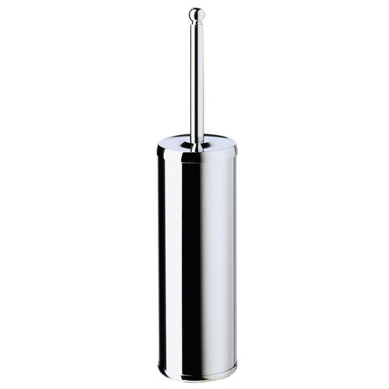 "Smedbo Villa Polished Chrome Free Standing Toilet Brush Set 16�"" L"