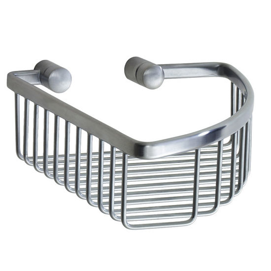 Smedbo Loft Brushed Chrome Single Soap Basket