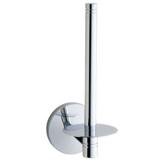 "Smedbo Studio Polished Chrome Spare Toilet Roll Holder 7""H"