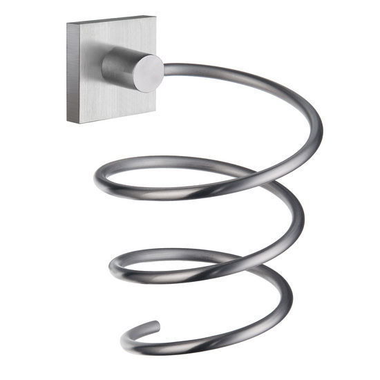 Smedbo House Series polished chrome hairdryer holder