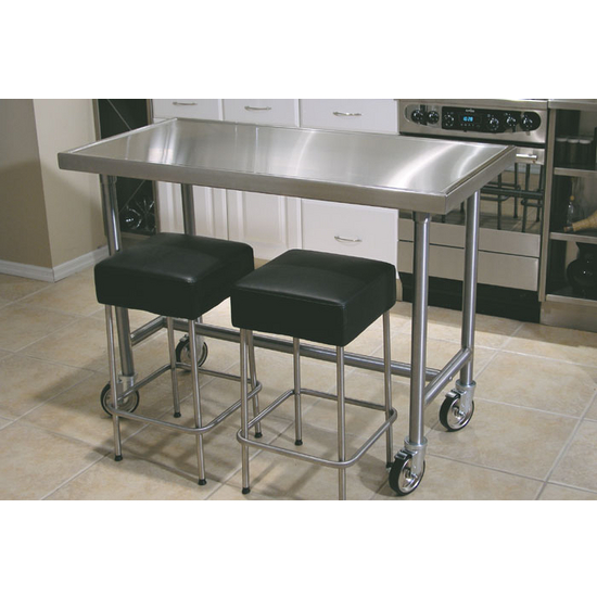 Chef Tables Counter Top Edge Chef Table By Advance Tabco