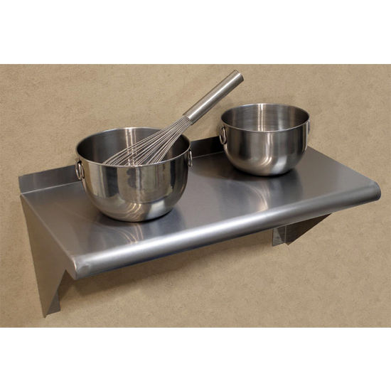 Advance Tabco Stainless Steel Wall Shelf