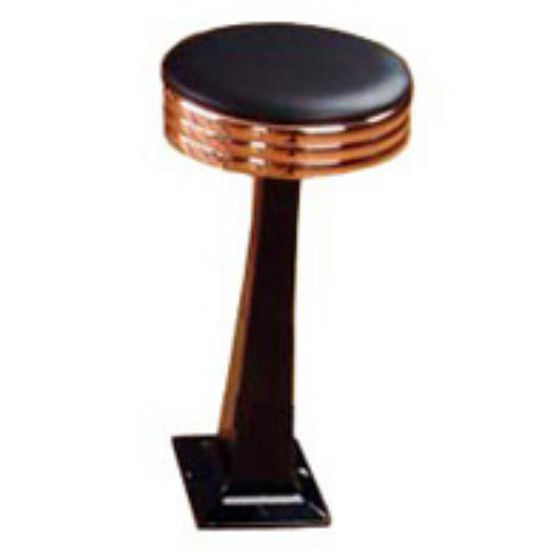 Sass Stools #2010-C - 19'' to 25'' Classic with Polished Copper Seat