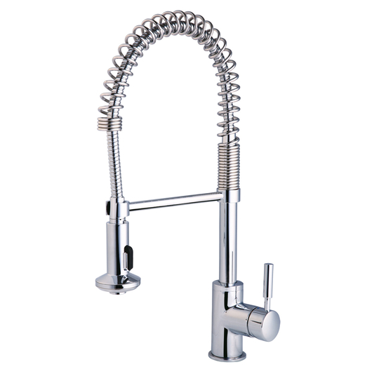 santec penza commercial style kitchen faucet denovo premier commercial style chrome pullout kitchen
