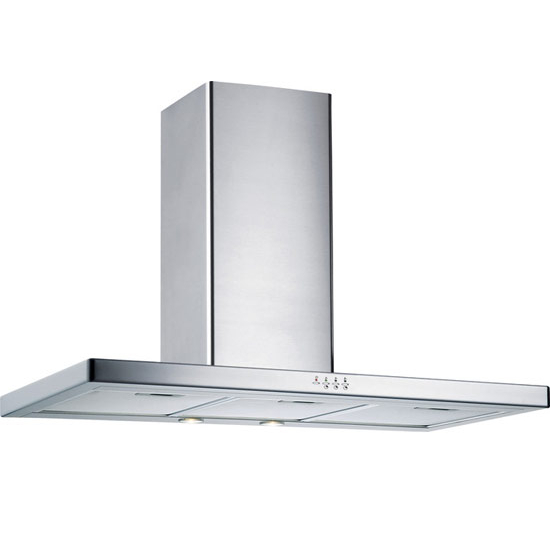 Storch Wall Mounted European Range Hood with Touch Control Panel, Stainless Steel