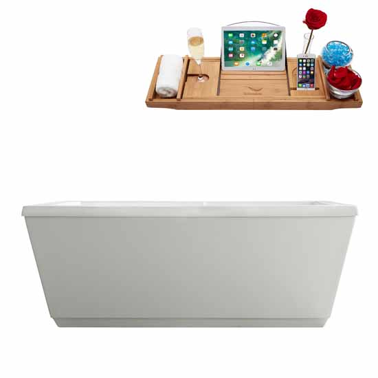 59'' - Tub and Tray View 1