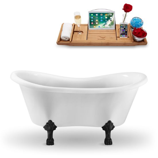 Black Foot - Tub and Tray View 1