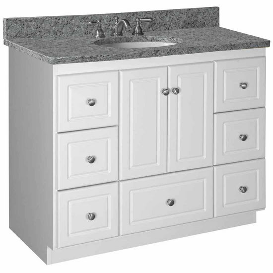 "Bathroom Vanities - Strasser Woodenworks 42""W Simplicity ..."