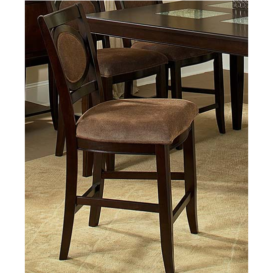 Steve Silver Montblanc Counter Chair Set, Merlot Finish