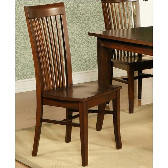 Steve Silver Angel Side Chair Set of 2, Espresso Finish