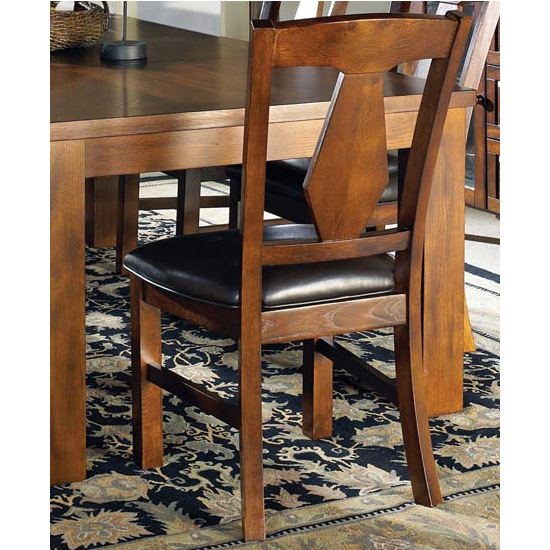 Steve Silver Lakewood Side Chair, Cherry Finish