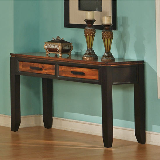 Steve Silver Abaco Sofa Table, Acacia Finish