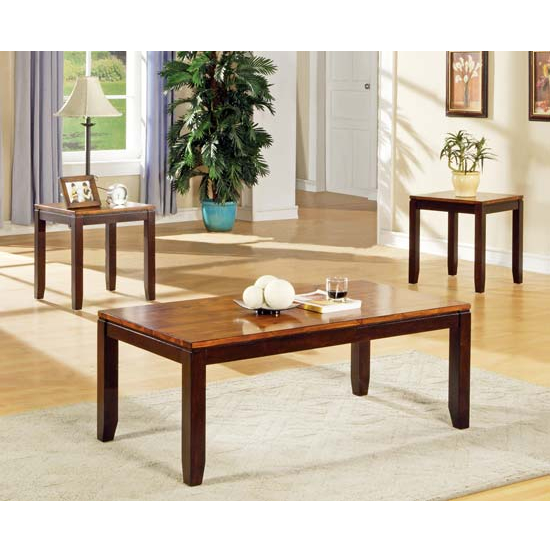Steve Silver 3 Piece Abaco Living Room Set, Acacia Finish