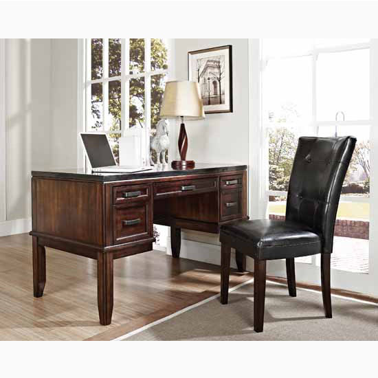"Steve Silver Chamberlain Parsons Chairs, 18""W x 25""D x 38""H"