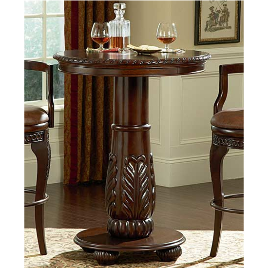 Steve Silver Antoinette Pub Table, Cherry Finish