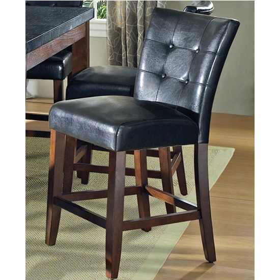 Steve Silver Granite Bello Counter Parsons Chair, Cherry Finish