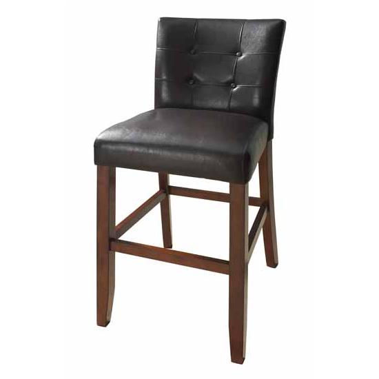Steve Silver Montibello Bar Chair Set of 2, Cherry Finish