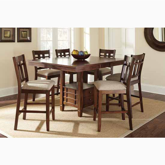 """Steve Silver Bolton Counter Chairs, 19""""W x 22""""D x 41""""H"""