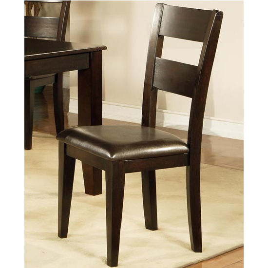 Steve Silver Mango Side Chair Set of 2, Espresso Finish