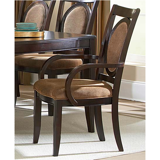 Steve Silver Montblanc Arm Chair, Merlot Finish